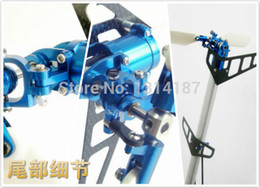 Wholesale Rc Frames - Wholesale-X-500 PRO CCPM EP HELICOPTER ARK-5002(ARF 85% Assembled) Aluminium frame electric powered RC 3D helicopter