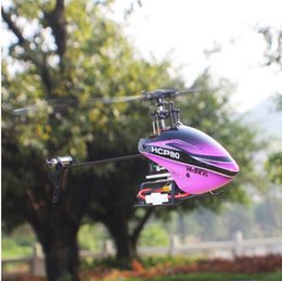 Wholesale 6ch Rc Helicopters Sale - New arrival hot sale Hisky HCP80 V2 3D 6CH 3Axis 6Axis Gyro RC Helicopter BNF