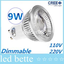 Wholesale power led blue spot lights - CE ROHS CSA UL + High Power Led GU10 E27 E26 MR16 GU5.3 Spot Bulbs Light COB 9W 60 Angle Dimmable Led Lights Warm Natural Cool White 85-265V