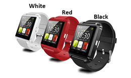 Wholesale Dhl Free Shipping Gps - DHL free shipping 2015 Factory wholesale cheap U8 smartwatch , U8 Bluetooth Smart Wrist Watch Phone Mate U Watch U8 Smartwatch