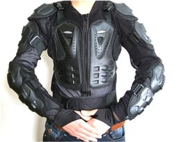 Wholesale Armor Bodies - Motorcycle Full Body Armor Jacket Motocross Protector Spine Chest Protection Gear~ M L XL XXL