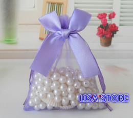 Wholesale Jewelry Sachet Bags - Free Ship 100pcs Various Sizes Organza Bags Bowknot Butterfly Business Promotional Packaging Bag Sachet Candy Beads Christmas Gift Bags