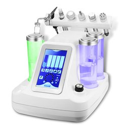 Wholesale Hydra Peel - 6 in 1 hydra facial water dermabrasion bio cavition rf cold hammer oxygen facial deep cleansing Oxygen jet Peeling machine