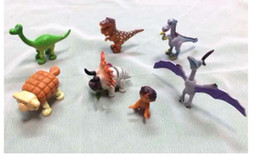 Wholesale Dinosaur Action - The Good Dinosaur PVC Doll Figure Model Toys Action Figures children's toys and gifts 7 design