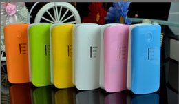 Wholesale S4 External - Wholesale - 5600ma Portable Mobile Phone Power Bank Emergency External Battery Charger panel USB for Galaxy S3 S4 5600 mah
