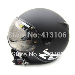 Wholesale removable padding - Wholesale-ZEUS 210 Matt Black MOMO Motorcycle helmet, Free shipping, Removable washable check pads, Removable sun visor, ECE approved