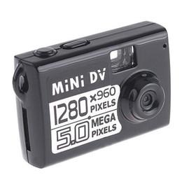 Wholesale Smallest Motion Detection Camera - HD 1280X960 smallest mini DV 5.0Mp HD mini spy camcorder digital video recorder DVR Motion Detection hidden camera in retail box