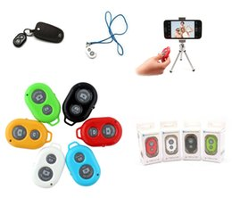 Wholesale Timer Camera Remote Control Wireless - Wireless SELFIE Bluetooth Remote Control Self-timer Shutter Snapshot Camera Control Remote Shutter For iPhone  Samsung  Sony  Camera