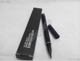 Wholesale Wholesale Brown Gift Boxes - Free Gift!!New Arrivals High quality makeup LIQUID waterproof EYELINER HAVE BOX black 2g