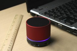 Wholesale S11 Beatbox Speakers - Mini BeatBox Hi-Fi Bluetooth S11 Speakers Portable Subwoofer Support Dual LED Ring Hands-free Calls  laptop tablet