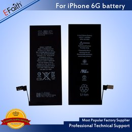 Wholesale Ups Battery Wholesale - For iphone 6 6s Battery Grade A+++ Quality Internal Built-in Li-ion Replacement Battery For iphone 6 & Free UPS Shipping