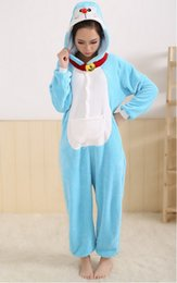 Wholesale Cute Apartments - Love Apartments flannel pajamas piece leather Viking men and women through animal lovers cute tracksuit