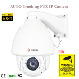 Wholesale Ip Auto Tracking - PTZ ip zoom pan tilt Camera With 1080p auto tracking ip PTZ Camera 20x IP Network outdoor onvif plug&play system