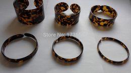 Wholesale Tortoise Bangle Bracelets - turtle shell bangle tortoise resin bracelet turtle resin bracelet 0.90cm (0.35inch) x 7.00cm (2.76inch) , 0.90cm (0.35inch)x 8.00cm