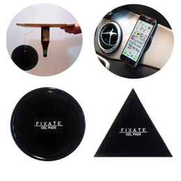 Wholesale Sticky Pad Holder - Fixate Gel Pads Strong Sticky Anti Slip Mat Non Slip Car Dashboard Wall Sticker Powerful Silica Magic Car Mobile Phone Holder