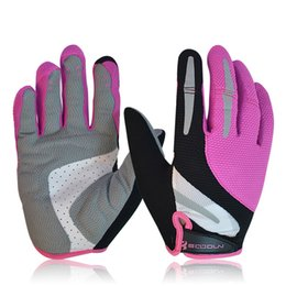 Wholesale Riding Gloves For Women - Windproof Cycling Gloves Warm Wear-resistant Full Fingers Spring Antumn Riding MTB Bike Bicycle Glove For Men and Women
