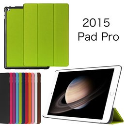 Wholesale Luxury Slim Ipad Cover - Luxury Business Tri-Fold Ultra-thin Slim Stand Flip PU Leather Case Hard Smart Magnetic Tablet Cover Shell for iPad Pro Mini 4 Mini4 IPROC03