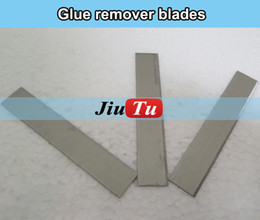 Wholesale Cleaning Loca Glue Remover - 100pcs lot LOCA Remover Blade Knife OCA Adhesive Glue Cleaning Tool For Cracked Phone LCD Repair