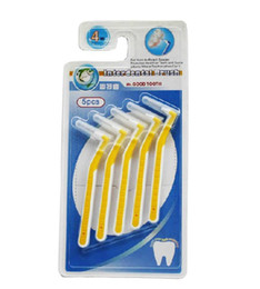 Wholesale Dental Tooth Kit - Wholesale-Tooth brush tools for clean Teeth Hygiene Kit Professional Dental Stainless Steel Toothpick free shipping new design unisex
