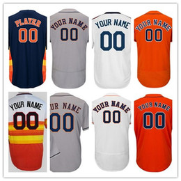Wholesale Houston S - Custom Houston 1 Carlos Correa 4 George Springer 27 Jose Altuve 34 Nolan Ryan #35 Verlander 2017 WS Champions Strong Patch Baseball Jerseys