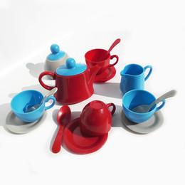 Canada 1 Set Théière Pretend Play Toy Set Simulation Cuisine Jouets Après-midi Thé Théière Jouet Fun Play + Apprendre Les Enfants Cadeau Offre