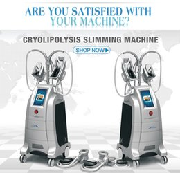 Wholesale Cryolipolysis Ce - Cryolipolysis Slimming Beauty Machine with four handle Slimming equipment freezing fat cool sculpting beauty Machine for salon