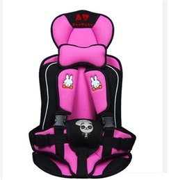 Wholesale adjustable child car seat - Children's Car Seat Cushion Wholesale Upset Child Safety Sat Pad Used For Baby 1 To 4 Years Old General Heat Selling In 2015