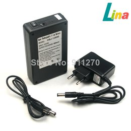 Wholesale 12v Lithium Ion Battery Packs - New EU Plug Rechargeable Lithium-ion Battery Pack DC 12V 6800mAh Portable Super Capacity For CCTV Camera Monitor