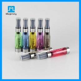 Wholesale Ce4 Ohm - 2015 Newest Ce4 Atomizers 1.6ml 2.4 Ohm For E-cig Battery Ce4 Ce5 Clearomizer Atomizer Wicks Ce4 Clearomizer For Sale