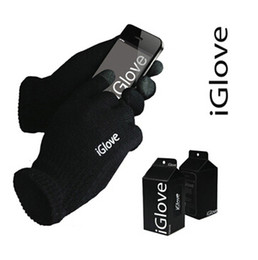 Wholesale Smart Phone Gloves Wholesale - Universal IGlove Screen Touch Gloves Capacitive Gloves With Retail Package Unisex Winter for Iphone 7 6 6S Plus 5S Smart Phone Touch ipad