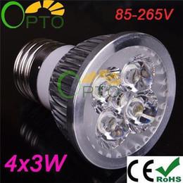 Wholesale Dimmable Warm White 9w - Dimmable LED Spotlight Bulbs 9W 12W 15W E27 E14 GU10 MR16 GU3.5 85-265V Cool Warm White Spot Light High Power LED Bulbs