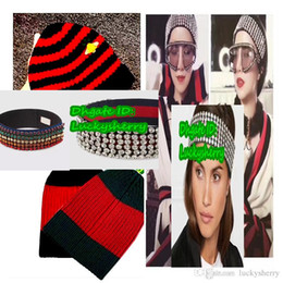 Wholesale Head Diamond - A01G - wechatfactoryoutlets ! NEW arrived luxuries winter and Autom 100% wool hat, women fashion diamond head&bands. free size.