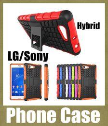 2019 casos sony z3 Lg g3 casos híbrido case heavy duty spiderman durável tpu pc robot case capa para lg g2 g4 l70 sony z3 mini sony z2 z4 mini caso difícil SCA047 casos sony z3 barato