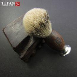 Wholesale Aluminum Shavings - Men Shaving Brush Hand-made Badger Hair Silvertip Brushes Pincel De Barbear Aluminum Handle Pinceis Brocha De Afeitar