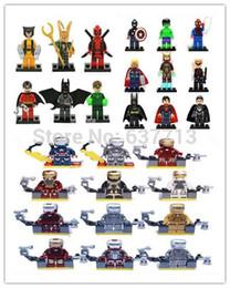 Wholesale General Zod - Super Heroes Iron Man Series Figures 27pcs lot The Avengers General Zod Superman Batman Spider-Man Action Minifigures Brick Toys 1206#06