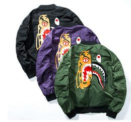 Wholesale I Clear - kanye west high quality Embroidery Jacket Men hip hop skateboard i feel like pablo fear of god baseball MA-1 pilot Yeezus jacket
