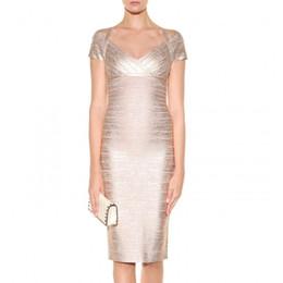 Nouvelle arrivée 90% rayonne sexy sans manches femmes soirée soirée / bandeau robe de bandage H553 ? partir de fabricateur