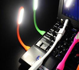 USB LED Lámpara de luz portátil Flexible Lámpara de LED para portátil Ordenador portátil Tablet PC USB de alimentación desde fabricantes