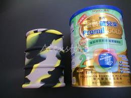 Big 500ml Silikonöl Barrel Container Gläser Tupfen Wachs Verdampfer Öl Gummi Trommel Form Container große Lebensmittelqualität Silikon trockenes Kraut Werkzeug von Fabrikanten