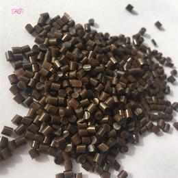 Wholesale Strong Glue Grain - Extra Strong Keratin Glue Grain 100% Genuine Qulaity Italian Keratin Glue Grain Granules In White Brown Black 100g