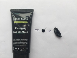Wholesale black peel off mask blackhead - 2017 Shills Peel-off face Masks Deep Cleansing Black MASK 50ML Blackhead Facial Mask Shills Deep Cleansing Black MASK
