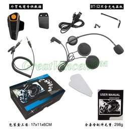 Wholesale Intercom Motorcycles - Wholesale-2015 newest BT-S2 The popular high quality Free Shipping!!!!1000m motorcycle BT bluetooth multi interphone headset helmet intercom