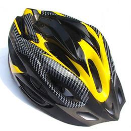 Wholesale Bike Visor - Wholesale-HIgh Safety Adjustable Carbon Helmet Visor MTB Bike Outdoor Riding Sport 21 Channeled Vents Black  Blue Bicycle Cycling