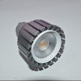 E27 12v dimmable on-line-Dimmable 6w 8w COB Led Spot Luzes Lâmpada E27 MR16 GU5.3 GU10 Led Luzes Quente Branco Fresco AC85-265V 12V CE RoHS