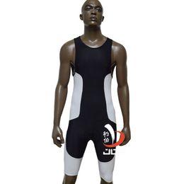 Wholesale Cycling One Piece - Wholesale-JOB ironman triathlon swimsuit one piece suits running suit tri suit men cycling bike clothes