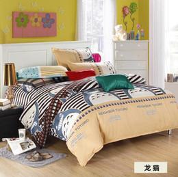 Wholesale Aqua Print Comforter - 2015 New Printing Bedding Set Fashion Bed Sheet Duvet Cover Pillowcase Winter Cotton 4pcs Bed Sets Comforter Free shipping
