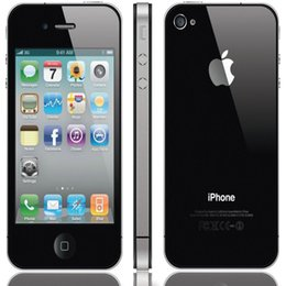 Wholesale Iphone 4s Cell Phone White - Refurbished Apple Iphone 4S i4 Unlock Iphone Cell phone 32G ROM 3.5Inch IPS 960*540 Screen IOS 7.0 Dual Core 3G