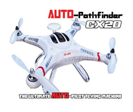 Wholesale Gps Control Rc - 2015 New arrival RC CX-20 Quadcopter with camera cheerson AUTO-Pathfinder control GPS CX20 RC Drone VS DJI ghost walkera qr x350