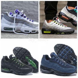 Wholesale air gym - New Airs 95 Running shoes For Women & Men,20 Anniversary High Quality Sport Shoes air 90 Trainers Sneakers Eur 36-46
