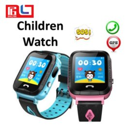 Wholesale gps sos - V6G Children Smartwatch Swimming Waterproof GPS Tracker SOS call with Camera Special For kid gift Christmas gift with Retail Box Q50